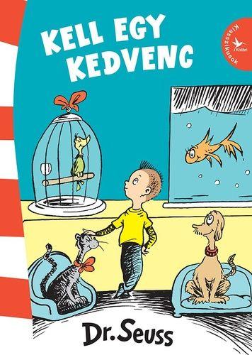 [0%/0] A Kalapos Macska és a Ha lenne egy cirkuszom után áprilisban végre új Dr. Seuss-kötetekkel jelentkezünk! A Kell egy kedvenc szövegére közel 25 évvel Dr. Seuss halála után bukkantak rá. Kiadása után azonban azonnal meghódította a világot. Egy testvérpár vásárolni indul a kisállat-kereskedésbe. Ismerős helyzet. Ahogy a kérdés is: melyik állatot válasszák? Szívük szerint persze hazavinnék mindet… Dr. Seuss egyedi humorával mutatja meg, hogy legyen bármilyen nehéz, előbb-utóbb muszáj ...