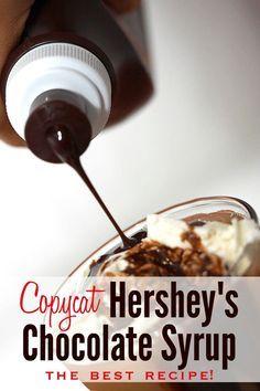 hershey's chocolate syrup recipe | homemade Hershey's syrup | DIY Hershey's syrup | homemade Hershey's recipe | How to make Hershey's syrup | homemade chocolate syrup recipe