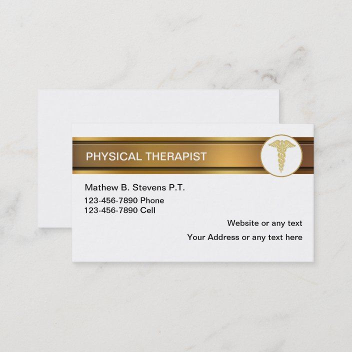 Physical Therapist Business Cards Zazzle Com Physical Therapist Physics Therapist