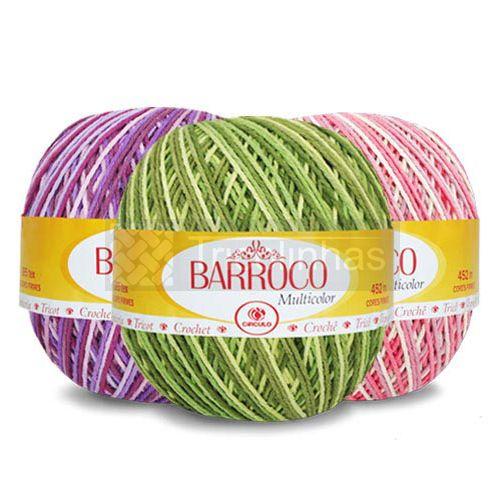 Barbante Barroco Multicolor 400g Círculo