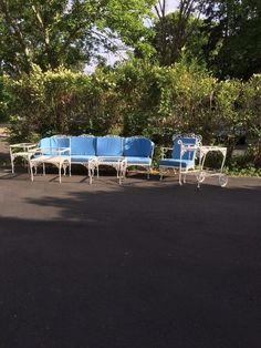 russell woodard wh wrought iron patio furniture 10 piece rareoak leafacorn