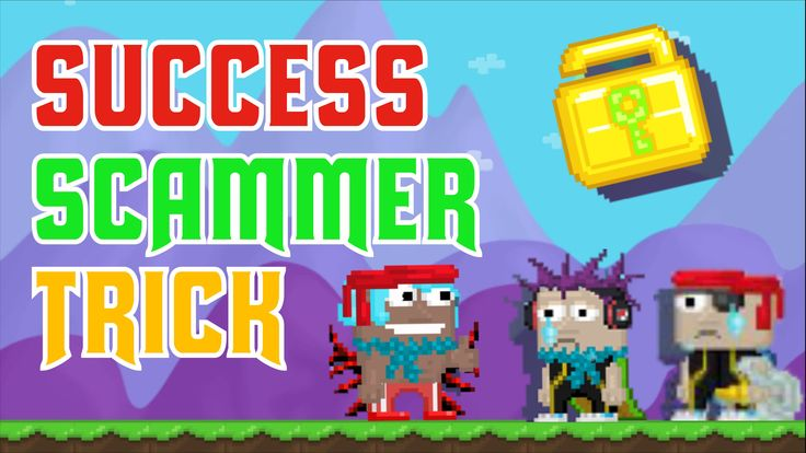 Growtopia Scammer Success Tricks