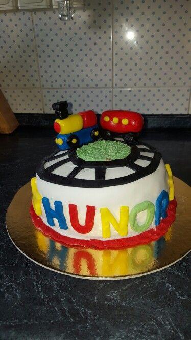 Train cake, vonatos torta