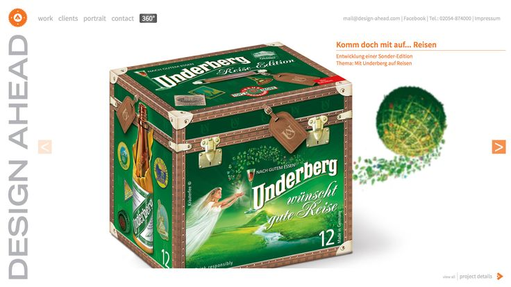 Packaging Design Underberg Sonder-Edition Reise