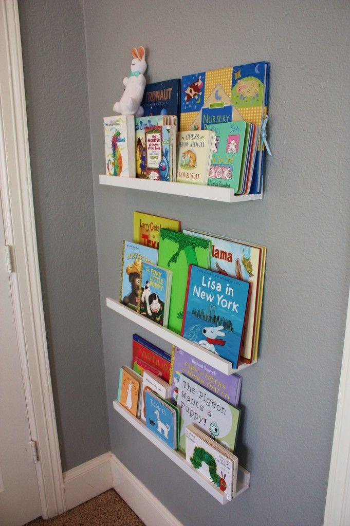 Baby Boy Aqua, Gray, & Green Nursery on Project Nursery  Books {Partyology by Lisa Riley}
