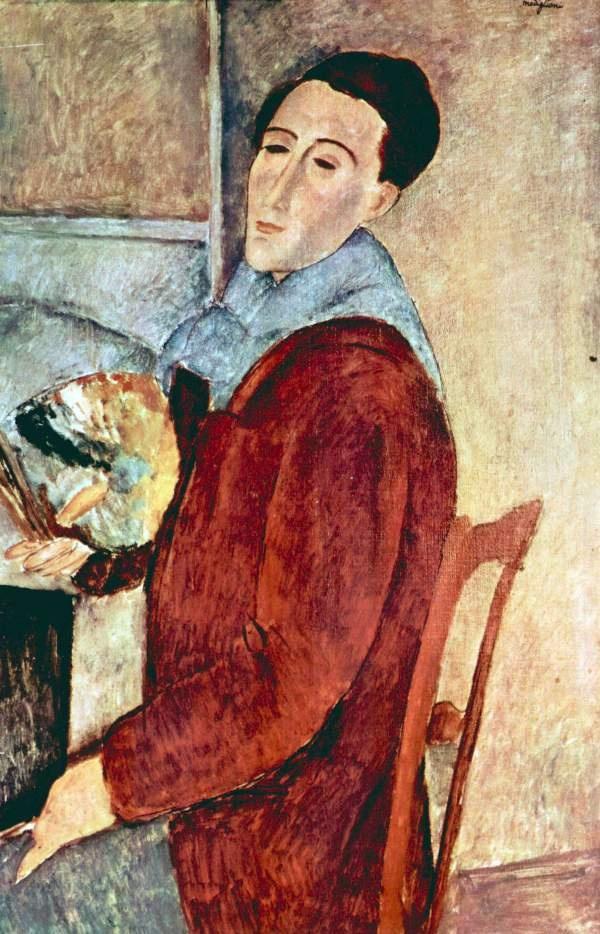 Amadeo Modigliani - Self Portrait - 1919