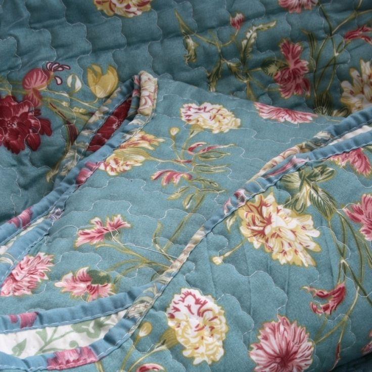 Přehoz na postel karafiát 250x230cm