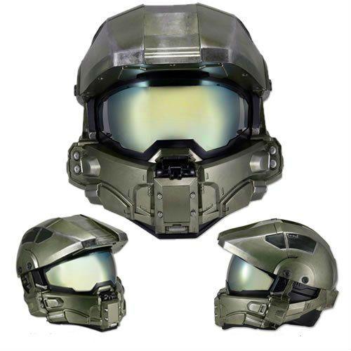Halo Mestre capacete da motocicleta chefe