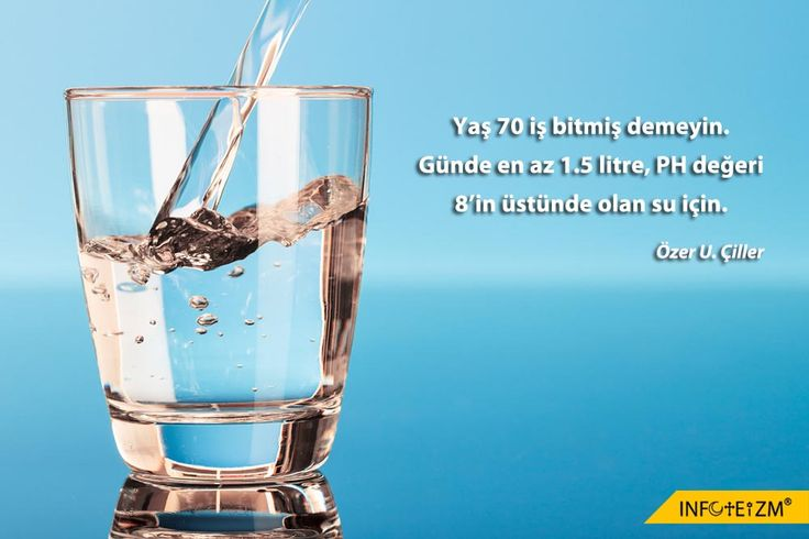Yaş 70, iş bitmiş demeyin. Günde en az 1.5 litre, PH değeri 8'in üstünde olan su için. #SağlıklıYaşam #su #water #yaşam #life #TanrısalSağlığınSırrı Özer U. Çiller