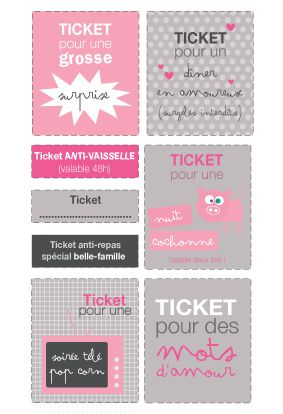 Tickets d'Amour