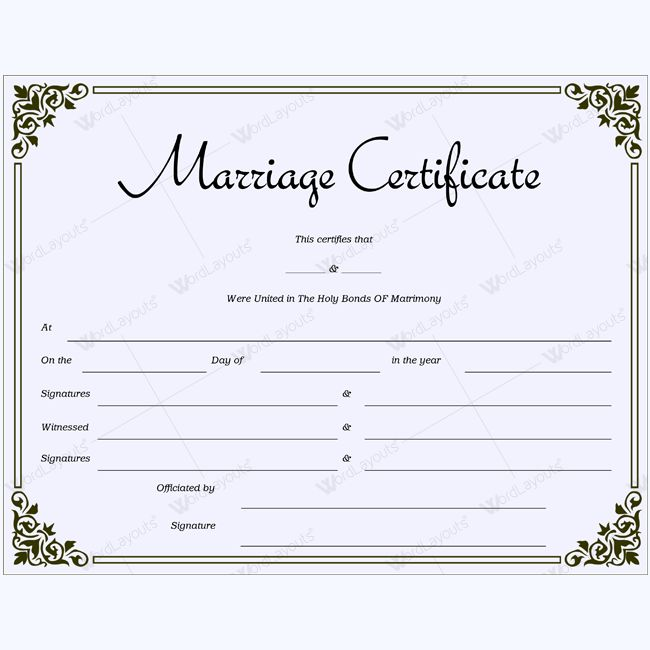 Marriage certificate templates 68 pinterest marriage certificate 41 yelopaper Images