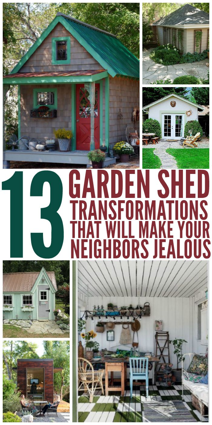 These Shed Transformations are gorgeous! - One Crazy House