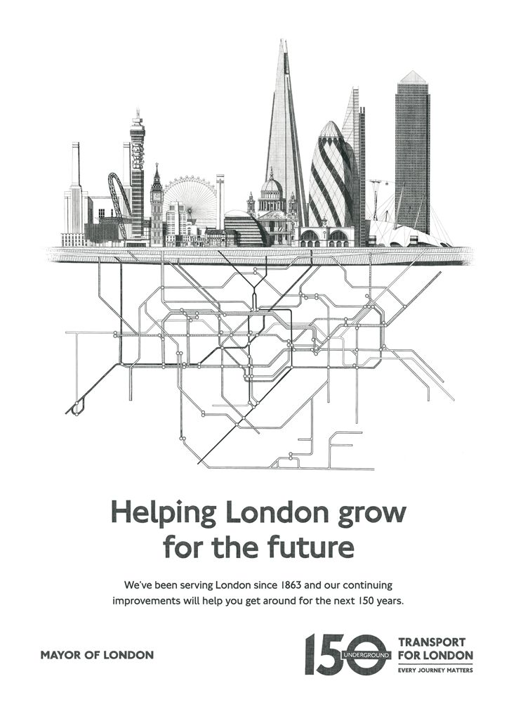 Helping London grow for the future. We've been serving London since 1863 and our continuing improvements will help you get around for the next 150 years.