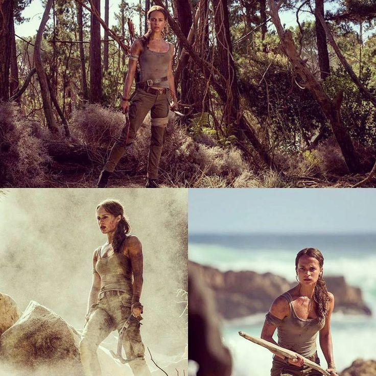 M.A.A.C.   –  ALICIA VIKANDER Cast As 'Lara Croft' In TOMB RAIDER Reboot. UPDATE: Official Images