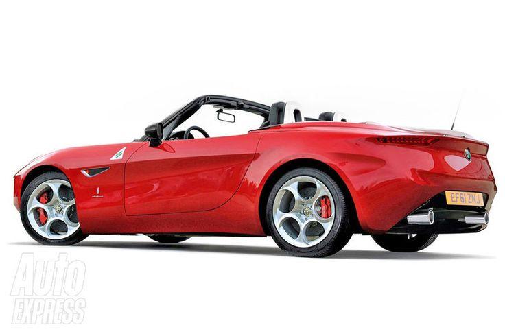 2015 Alfa Romeo Spider Concept