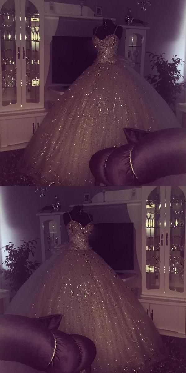 Hot Sale Appealing Ball Gown Wedding Dress Ball Gowns Wedding Dresses Bling Bling Style