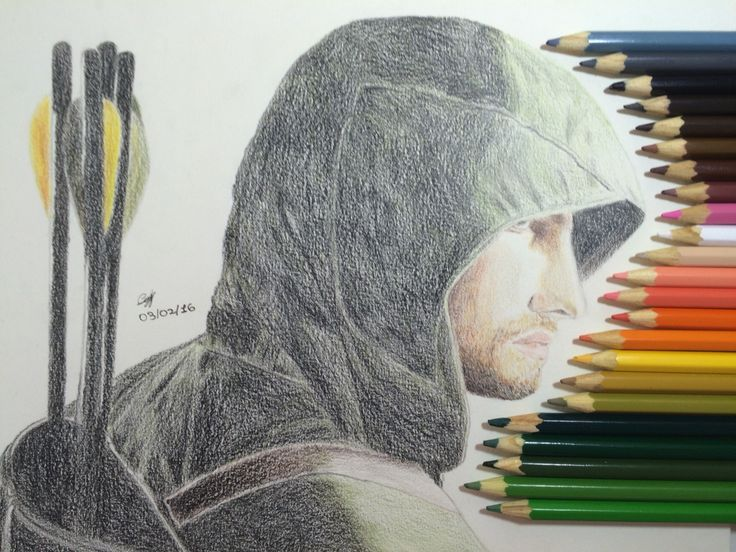 Oliver Queen (Stephen Amell) - AKA The Green Arrow - from TV series Arrow…