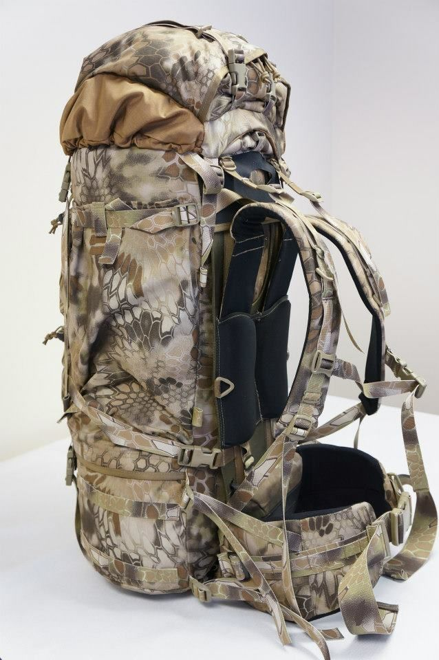 Kifaru Timberline Backpack - Kryptek Highlander