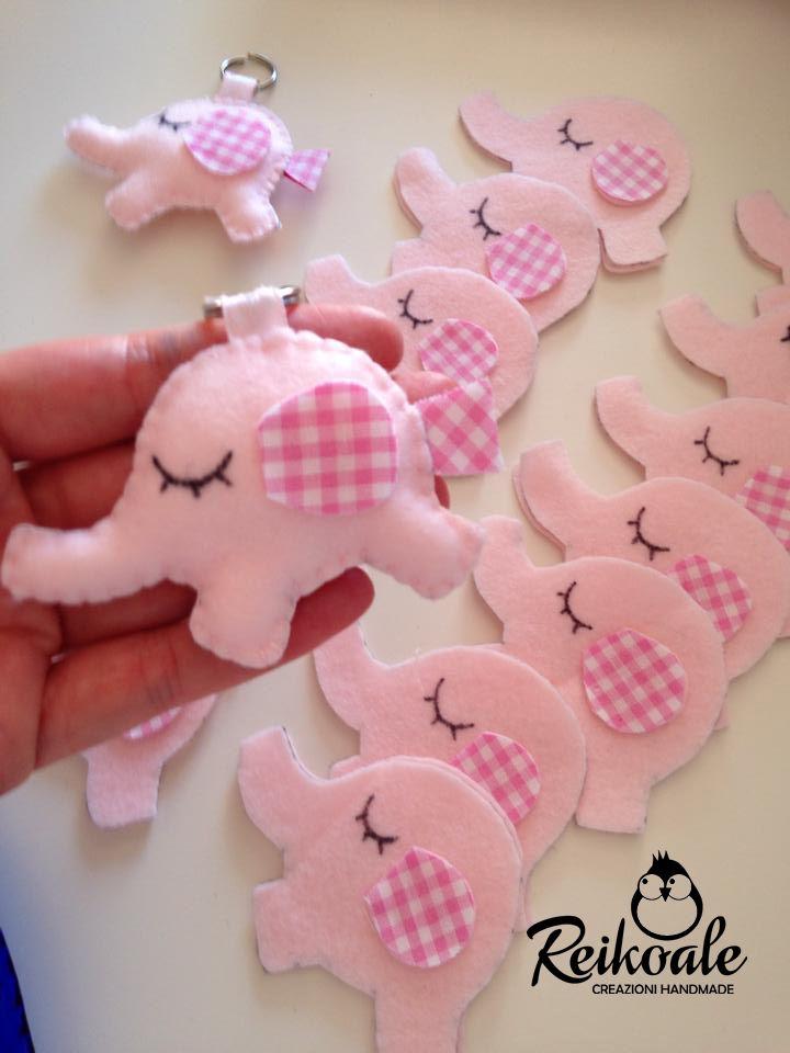 #bomboniere #nascita #fattoamano #handmade #creazioni #battesimo #reikoale #elefantini #elefante #nascita