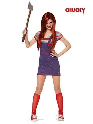 chucky sassy teen costume - Cool Halloween Costumes For Teenagers