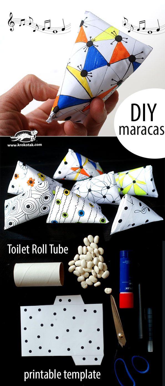 DIY marakas