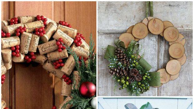 Našli jsme pro vás krásné, ale jednoduché inspirace na vánoční věnce, které zvládne vyrobit každý.