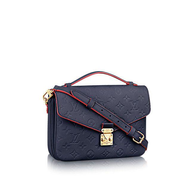 Pochette Metis Monogram Empreinte Leather WOMEN Handbags New This Season | LOUIS VUITTON