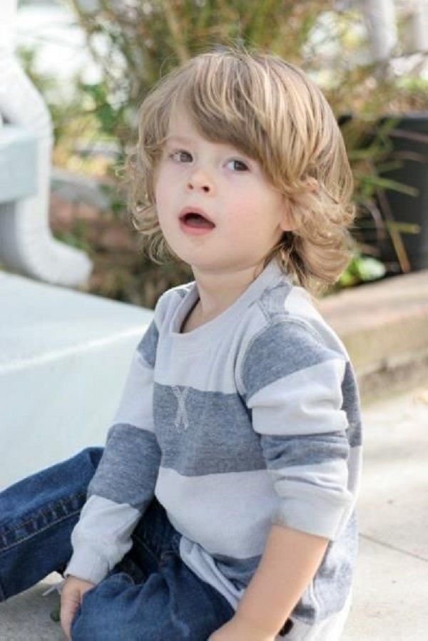 Best Little Boys Short Medium And Long Hair Images On - Cool hairstyle for toddler boy