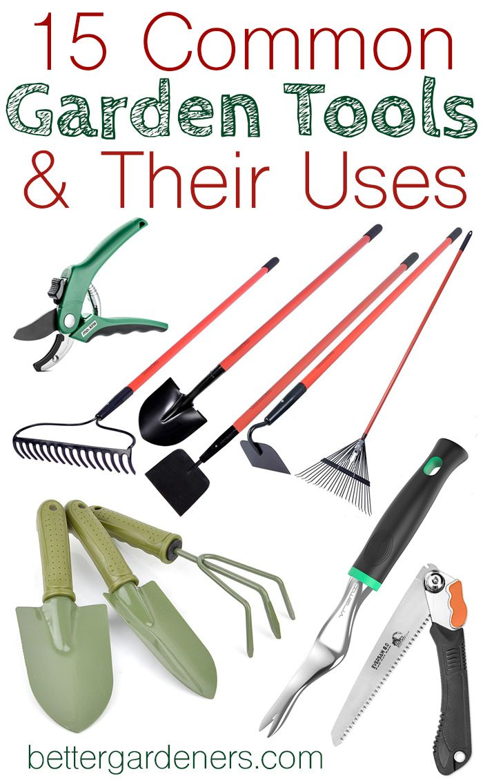 15 Common Gardening Tools And Their Uses Garden Tools Urban Garden Tools