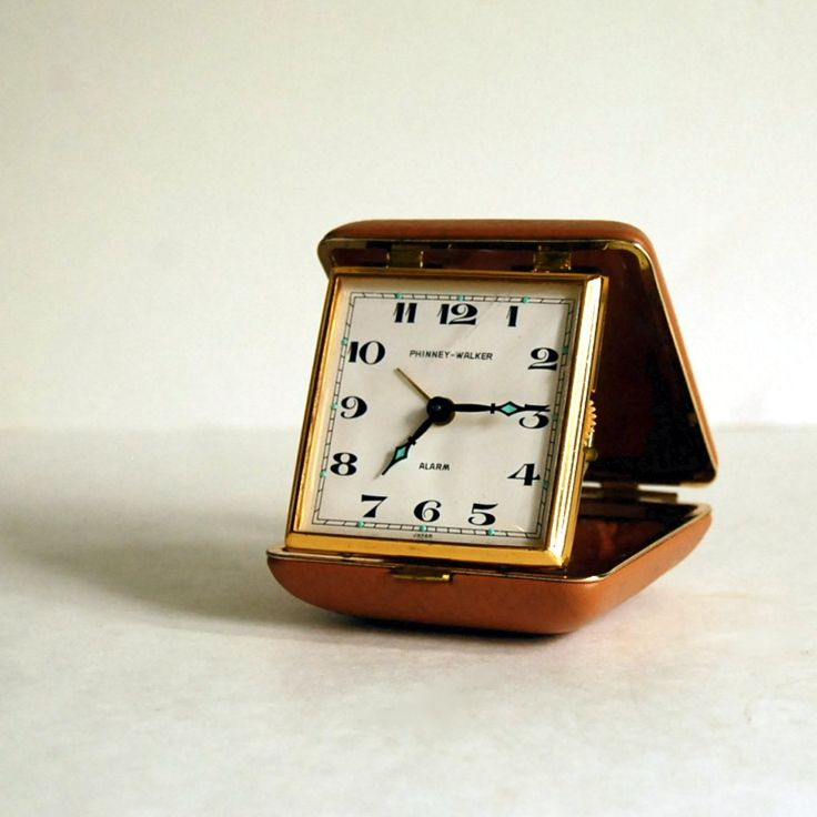 nightstand clock -- good for travel and so classic.