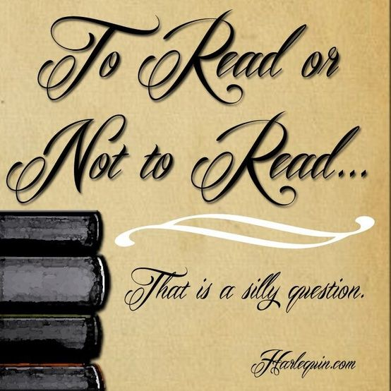To read or not to read...