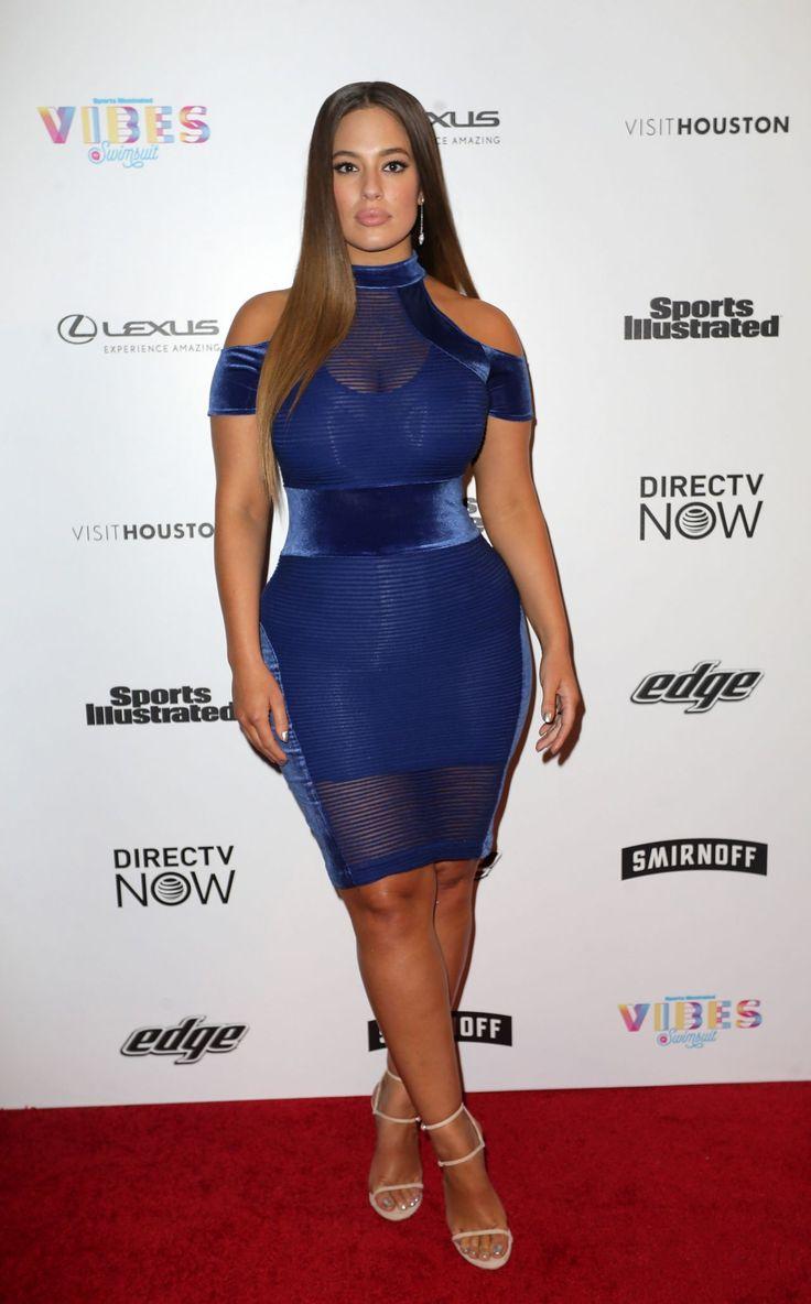Ashley Graham  #AshleyGraham VIBES By SI Swimsuit 2017 Launch in Houston 17/02/2017 Celebstills A Ashley Graham