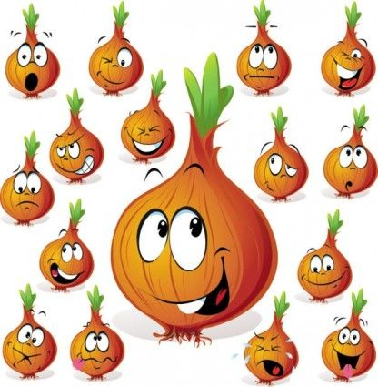 Cartoon fruit expression Free vector for free download (about 4 ...