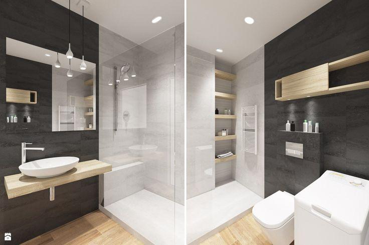 Łazienka 5m2 - zdjęcie od Houselab - Łazienka - Styl Nowoczesny - Houselab