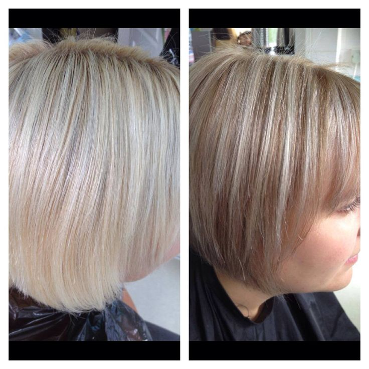 Previous Platinum Highlights Wanted To Soften Them Down To