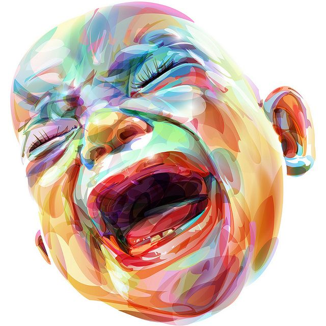David Croy illustration via @Stephen Coles: Croy Illustrations, Mcelhinney Cole, Buttercream Wedding Cake, Stephen Mcelhinney, Mcelhinney Mcelhinney, Rainbows Baby, Colors Together, David Croy, Stephen Cole