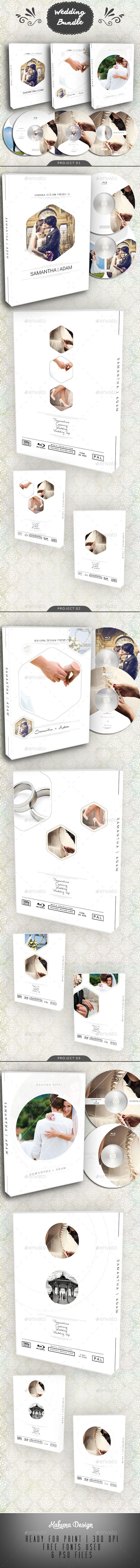 Wedding DVD / Blu-Ray Cover Bundle 2  #wedding cover #wedding invite #wedding season • Click here to download ! http://graphicriver.net/item/wedding-dvd-bluray-cover-bundle-2/12109980?s_rank=158&ref=pxcr