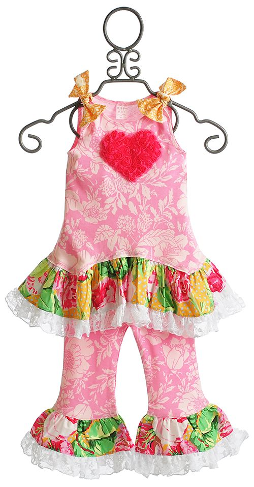 Giggle Moon Starlight Shine Heart and Lace Swing Set