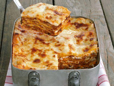 Ricetta Lasagne con ragù bianco di funghi
