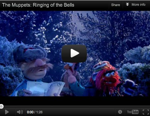 You'll love this -- Carol of the Bells by the Muppets. Lyrics to nearly 100 Christmas songs @ http://www.learnyourchristmascarols.com/2011/12/carol-of-bells-lyrics-video-mp3.html#