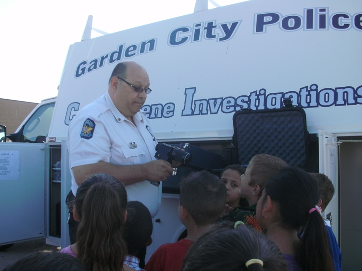 GCCC Kidsu0027 College Kids Learning From The Garden City Police Department. Garden  City,