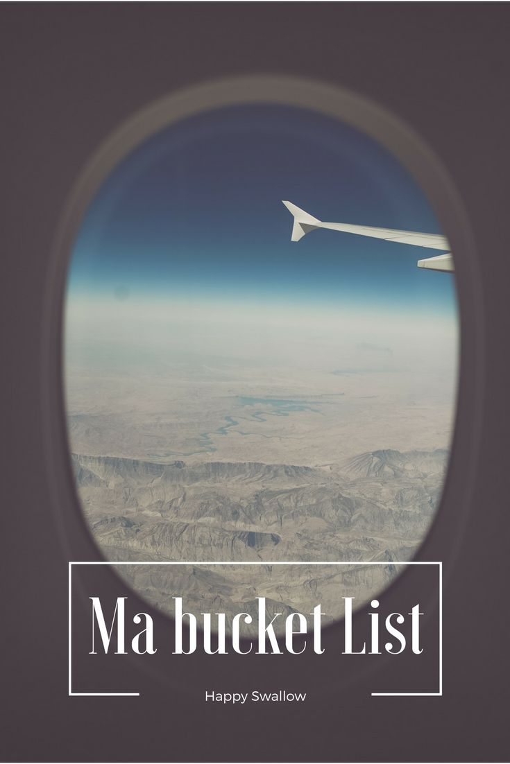 Connaissez-vous le principe de la «bucket list» ? Il s'agit d'une liste d'expériences à vivre ou de destinations à découvrir avant de mourir. J'ai décidé de vous proposer ce petit article afin de vous partager mes rêves, mais j'espère que vous partagerez également les vôtres dans les commentaires !