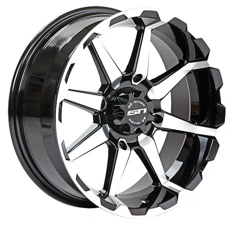 Discount UTV Tires ATV Tires and Wheels - STI HD6 WHEELS 12 INCH GLOSS BLACK / MACHINED, $65.99 (http://www.discountutvtires.com/STI-HD6-WHEELS-12-INCH-GLOSS-BLACK-MACHINED-ATV-UTV/)