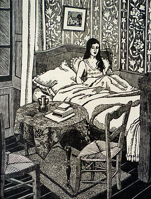 Tirzah Garwood (British, 1908-1951).  1929. (wood engraving)