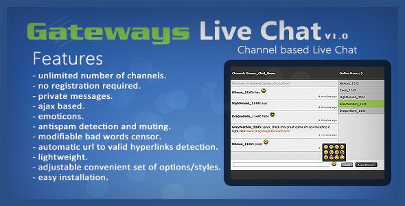 Gateways Live Chat