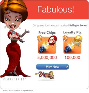 free chips on myvegas slots