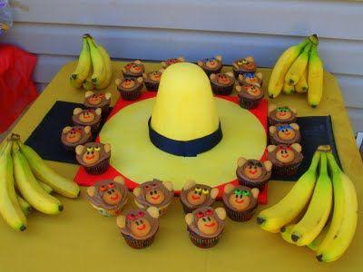 Curious George birthday cake ideas