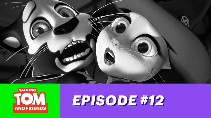 Talking Tom and Friends ep.12 - App-y Halloween! xo, Talking Angela #TalkingAngela #TalkingTom #MyTalkingAngela #LittleKitties #TalkingFriends #TalkingBen #TalkingHank #TalkingGinger #Halloween #scary