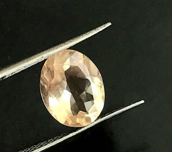 1 Pc 8.5x10.5mm Imperial Topaz Faceted Oval Cut Stone 2.80