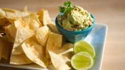 Emeril's Quick and Perfect Guacamole and Homemade Tortilla Chips